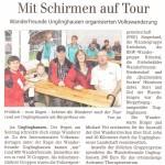 Artikel der Siegener Zeitung vom 17.08.15