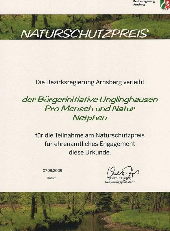 Naturschutzpreis